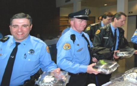 Adopt-A-Cop Mardi Gras Support