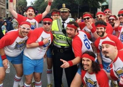 officer with 610 stompers
